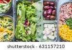 close up of various healthy... | Shutterstock . vector #631157210
