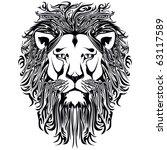 lion | Shutterstock .eps vector #63117589
