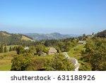 landscape mountain forest in... | Shutterstock . vector #631188926