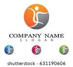healthy life logo | Shutterstock .eps vector #631190606