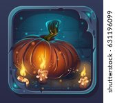 monster battle gui icon  ...   Shutterstock .eps vector #631196099