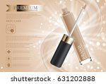 hydrating facial concealer for... | Shutterstock .eps vector #631202888