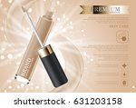 hydrating facial concealer for... | Shutterstock .eps vector #631203158