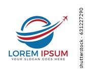 travel and tourism logo design. | Shutterstock .eps vector #631227290