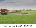 wheat  grain spraying | Shutterstock . vector #631230110