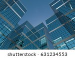abstract group of building with ... | Shutterstock . vector #631234553