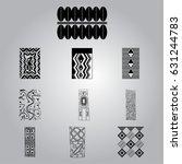african national symbols | Shutterstock .eps vector #631244783