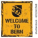 welcome to bern    Shutterstock .eps vector #631261568