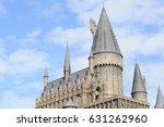 the wizarding world of harry... | Shutterstock . vector #631262960