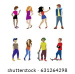 a vector illustration of... | Shutterstock .eps vector #631264298