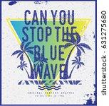 surf t shirt graphic | Shutterstock .eps vector #631275680