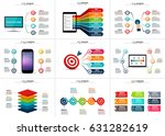 abstract infographics number... | Shutterstock .eps vector #631282619