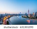 shanghai city scenery | Shutterstock . vector #631301090