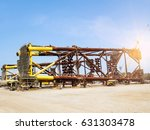 the workers are preparing to... | Shutterstock . vector #631303478