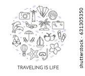 traveling horizontal banner... | Shutterstock .eps vector #631305350