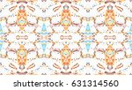 mosaic colorful artistic... | Shutterstock . vector #631314560
