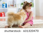 Funny Kid Playing With Dog...