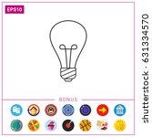 lightbulb | Shutterstock .eps vector #631334570