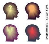 vector illustration of four... | Shutterstock .eps vector #631345196