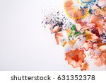 wooden colorful pencil...   Shutterstock . vector #631352378