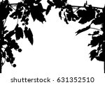 illustration with frame from... | Shutterstock .eps vector #631352510