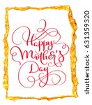 happy mothers day vector... | Shutterstock .eps vector #631359320