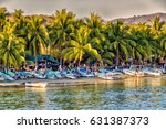 zihuatanejo  mexico. circa... | Shutterstock . vector #631387373