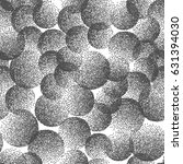 vector abstract stippled weird... | Shutterstock .eps vector #631394030