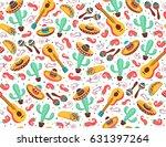 Viva Mexico Seamless Pattern....
