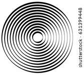 radial lines with rotating... | Shutterstock .eps vector #631399448