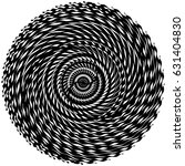 circular  radiating abstract... | Shutterstock .eps vector #631404830