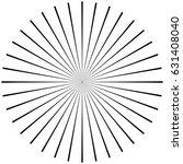 circular  radiating abstract... | Shutterstock .eps vector #631408040