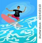 surfer | Shutterstock .eps vector #631410110