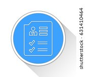 web report button icon business ... | Shutterstock . vector #631410464