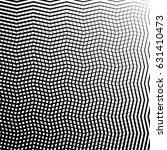 geometric black and white... | Shutterstock .eps vector #631410473