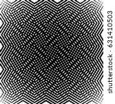 geometric black and white... | Shutterstock .eps vector #631410503