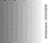 geometric black and white... | Shutterstock .eps vector #631410650