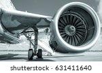 jet engine | Shutterstock . vector #631411640