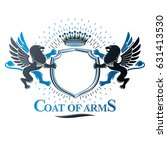 graphic emblem composed with...   Shutterstock .eps vector #631413530