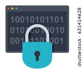 cryptography concept with...