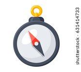 compass icon  vector...