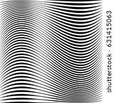 geometric black and white... | Shutterstock .eps vector #631415063