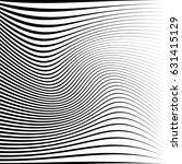 geometric black and white... | Shutterstock .eps vector #631415129