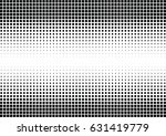 abstract halftone dotted... | Shutterstock .eps vector #631419779