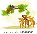 vector illustration of a crow... | Shutterstock .eps vector #631428080