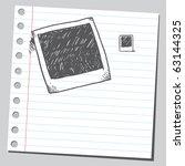 Sketch Of A Photo Frames