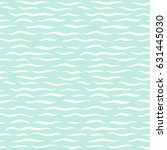 sea waves seamless vector... | Shutterstock .eps vector #631445030
