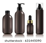 make up and skincare packaging... | Shutterstock .eps vector #631445090