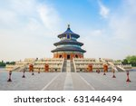 temple of heaven landmark of... | Shutterstock . vector #631446494
