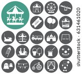 amusement park  playground icon ... | Shutterstock .eps vector #631461020